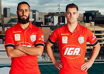 Nueva casaca del Adelaide United | Foto Web Oficial
