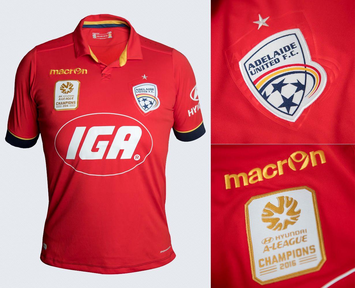 Nueva casaca del Adelaide United   Imágenes Web Oficial