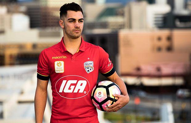 Nueva casaca del Adelaide United   Foto Web Oficial