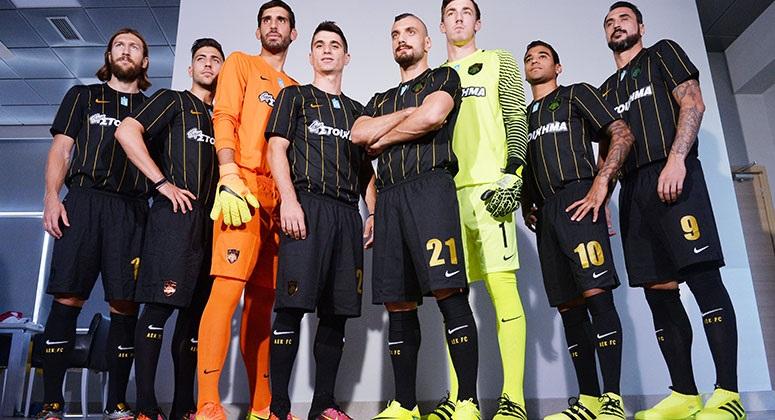 Nueva casaca titular del AEK | Foto Web Oficial