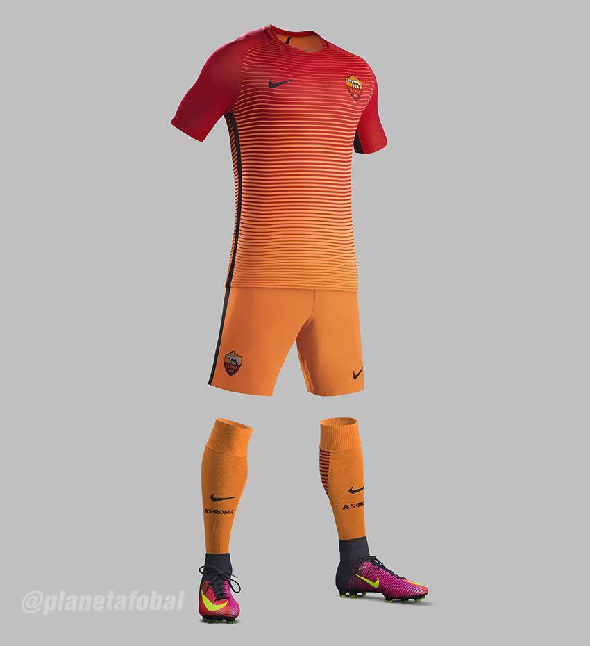Tercera camiseta de la AS Roma para 2016/2017 | Foto Nike