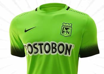 Nueva camiseta de Atlético Nacional | Foto Futbolete