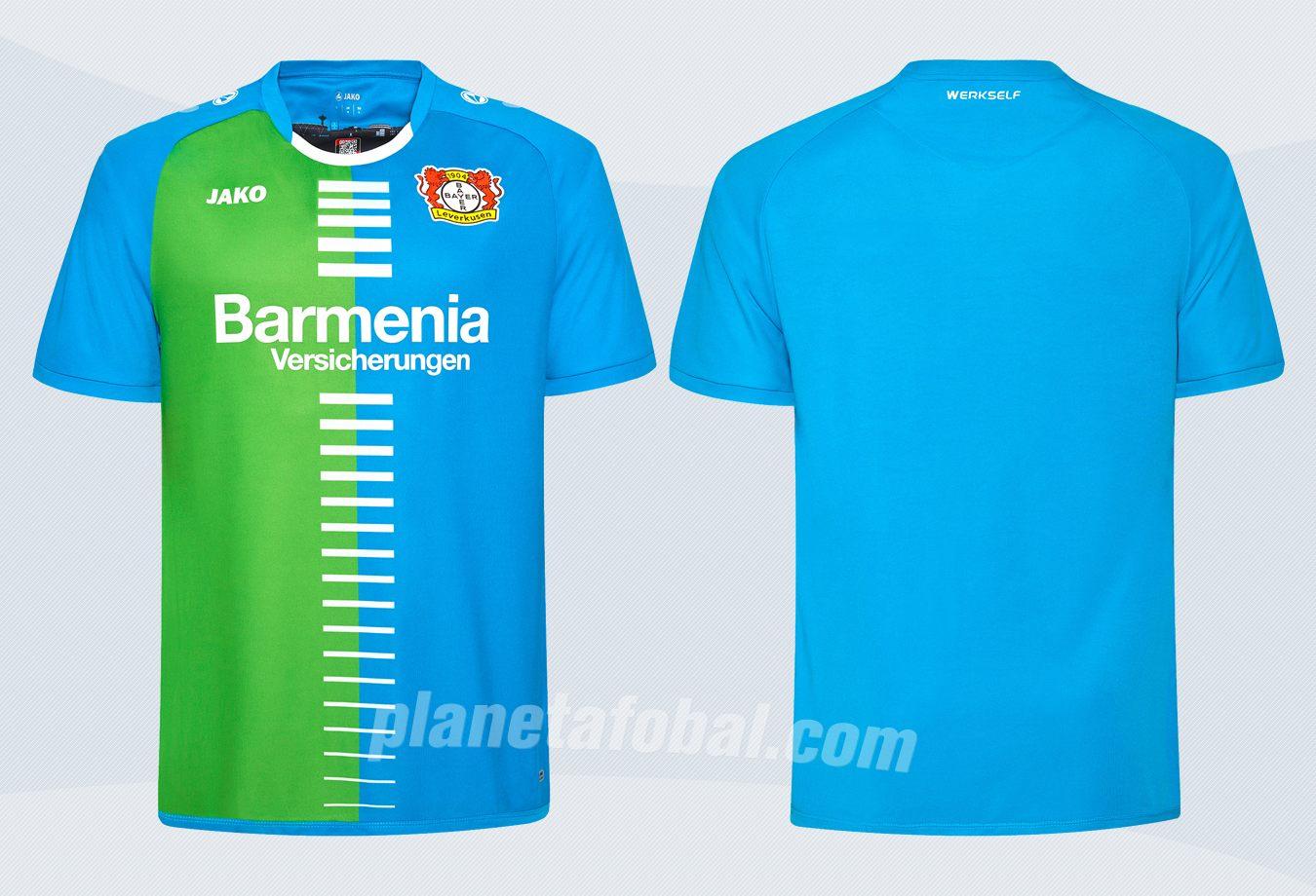 Camiseta especial del Bayer 04 | Imágenes Web Oficial