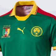 Nueva camiseta de Camerún | Foto Puma