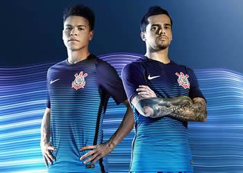 Tercera camiseta del Corinthians | Foto Web Oficial
