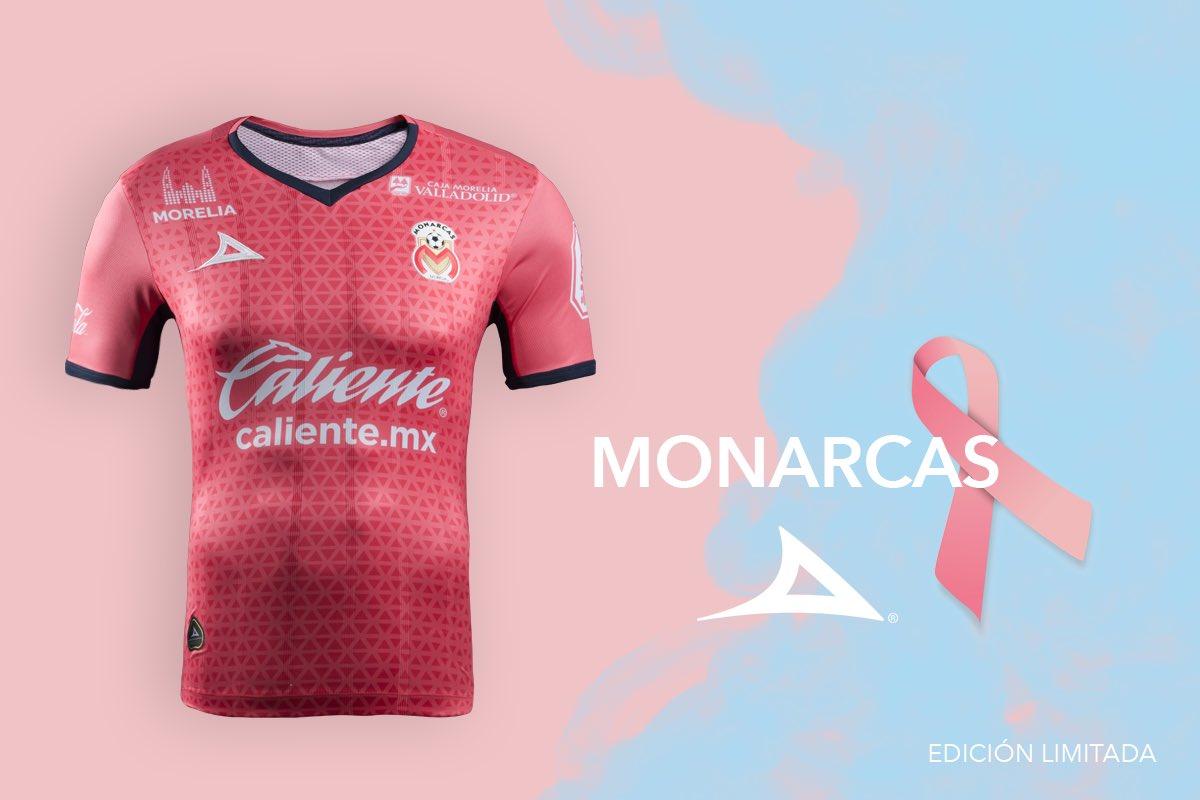Camiseta de los Monarcas Morelia edición limitada | Foto Pirma