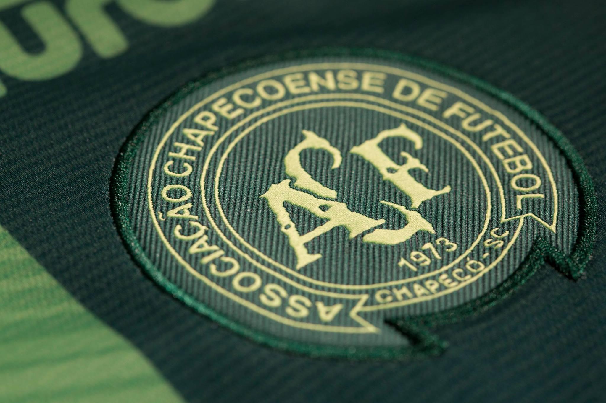 Nueva camiseta del Chapecoense | Foto Web Oficial
