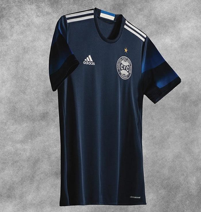 Tercera camiseta del Coritiba   Foto Web Oficial