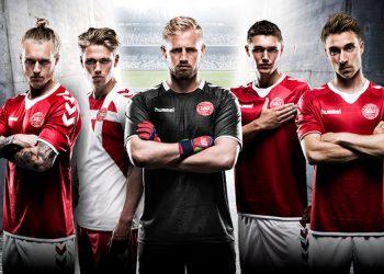 Nuevas camisetas de Dinamarca | Foto Hummel