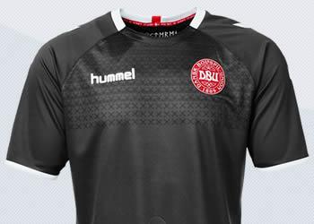 Camiseta de porteros de Dinamarca | Imágenes Hummel
