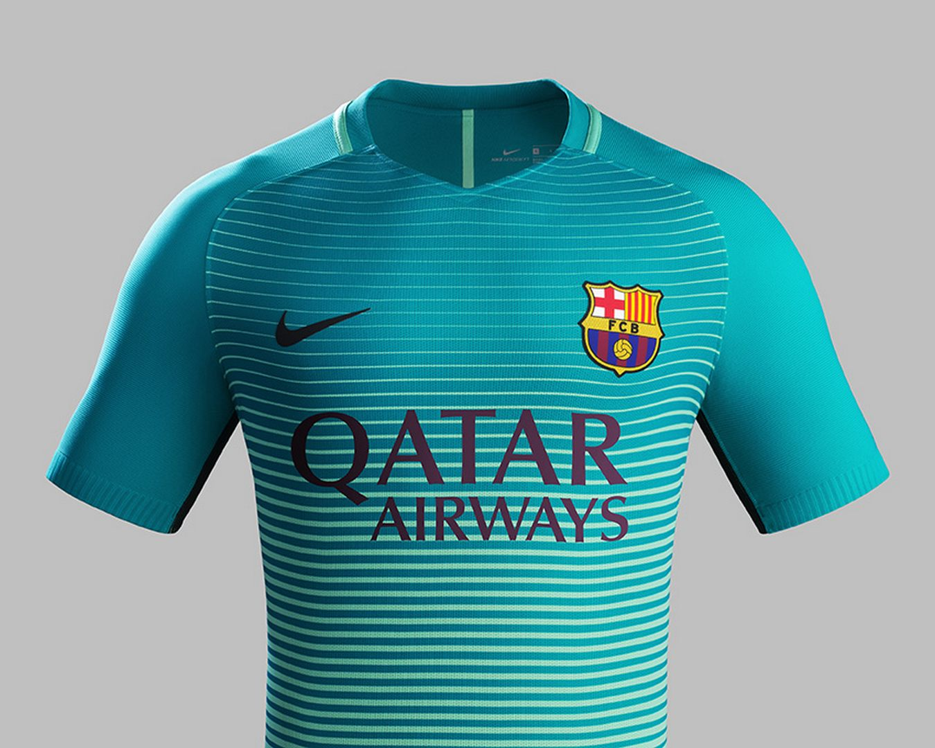 Tercera camiseta nike del barcelona 2016 2017 planeta fobal for Maillot exterieur barca 2017