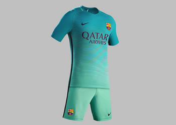 Nueva camiseta del FC Barcelona | Foto Nike