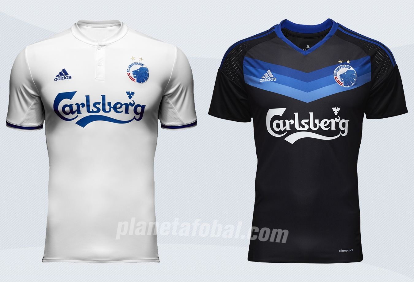 Nuevas casacas del FC Copenhague | Imágenes Web Oficial