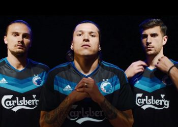 Camiseta suplente del FC Copenhague | Foto Captura