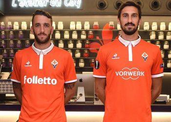Nueva casaca de la Fiorentina | Foto Web Oficial