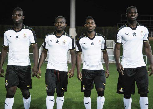 Nueva camiseta de Ghana | Foto Puma