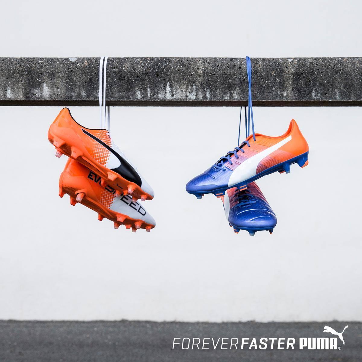 Nuevos colores para los botines de Puma