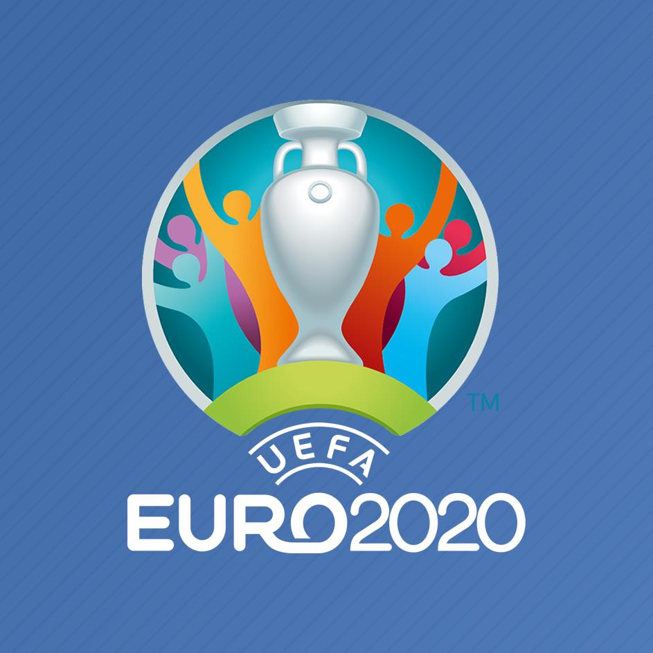 Asi luce el logo de la EURO 2020 | Foto UEFA