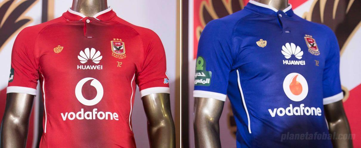 Nuevas casacas del Al Ahly SC | Imágenes Web Oficial