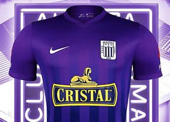 Nueva camiseta morada de Alianza Lima | Foto @jmenendezsilva