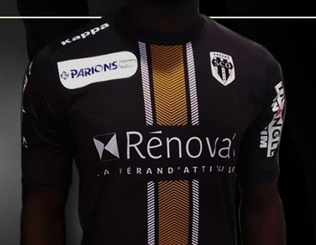 840d06186fd12 Camiseta del Angers para la Copa de la Liga