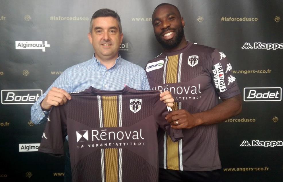 Camiseta del Angers para la Copa de la Liga | Foto Web Oficial