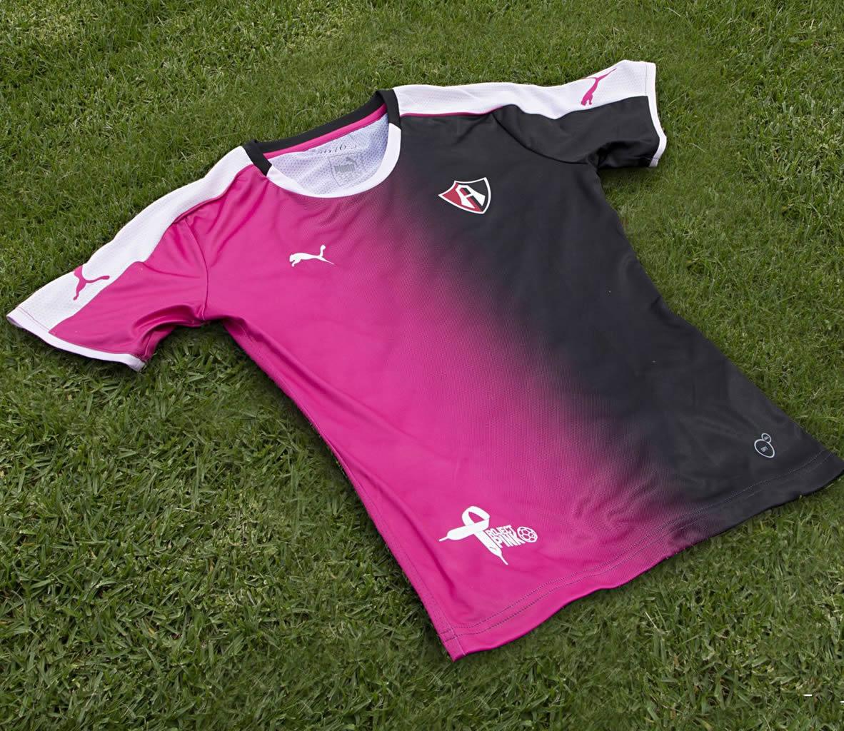 Casaca rosa del Club Atlas FC | Foto Puma