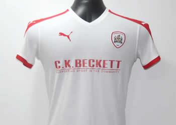 Tercera camiseta del Barnsley FC | Foto Web Oficial