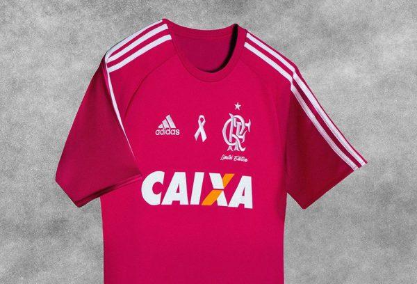 Camisa rosa del Flamengo | Foto Adidas
