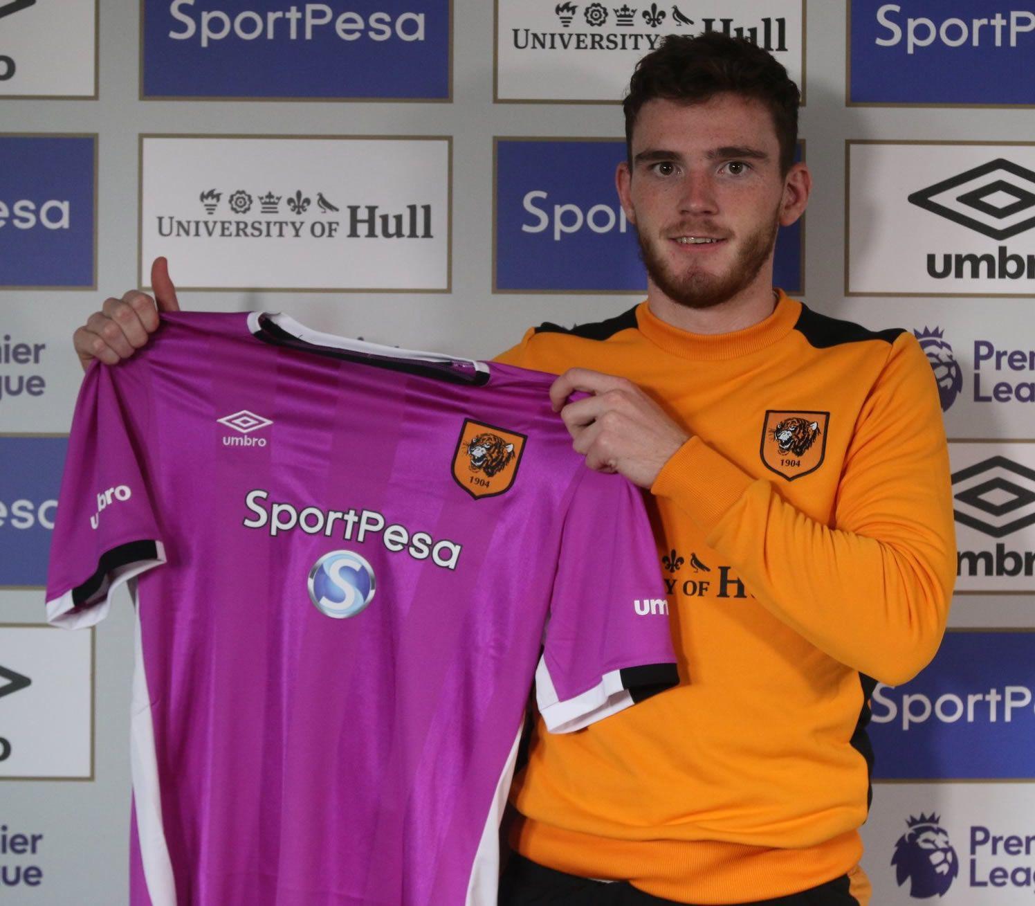 Nueva camiseta del Hull City | Foto Web Oficial