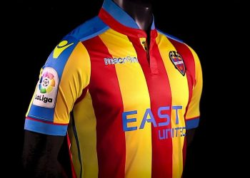 Camiseta senyera del Levante | Foto Web Oficial