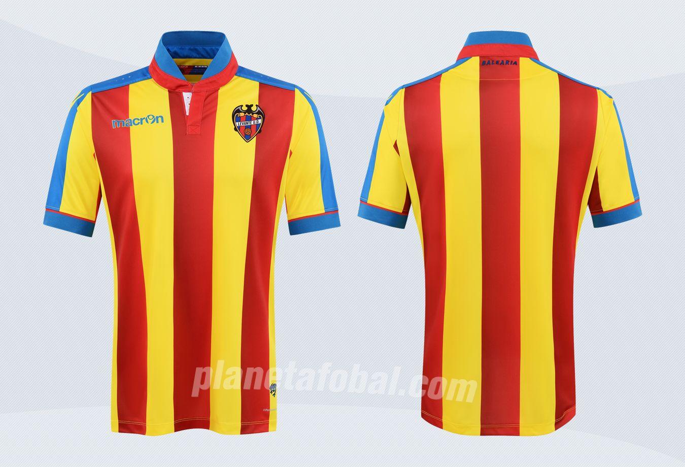 Camiseta senyera del Levante | Imágenes Web Oficial