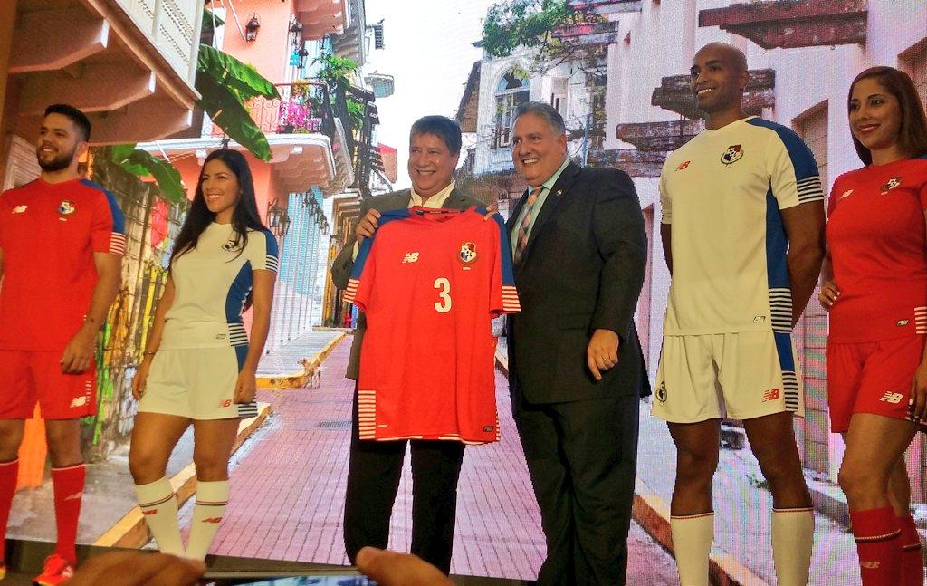 Nueva casacas de Panamá | Foto FEPAFUT