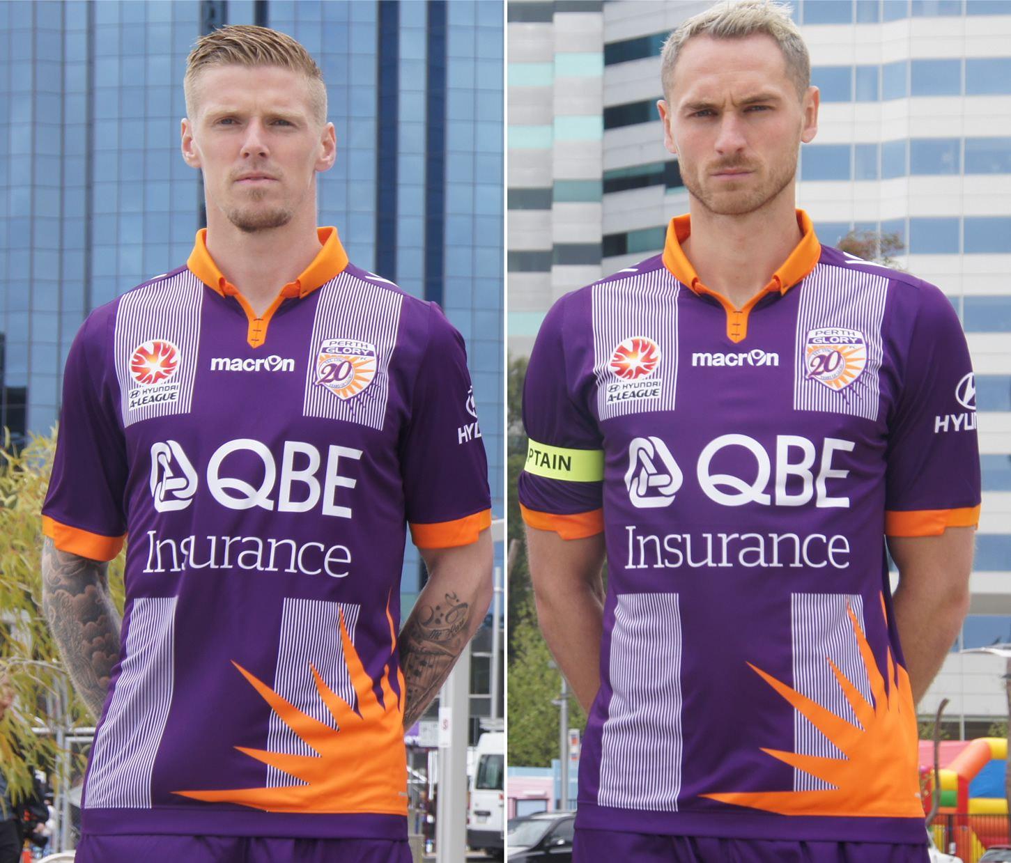 Camiseta especial del Perth Glory | Foto Web Oficial