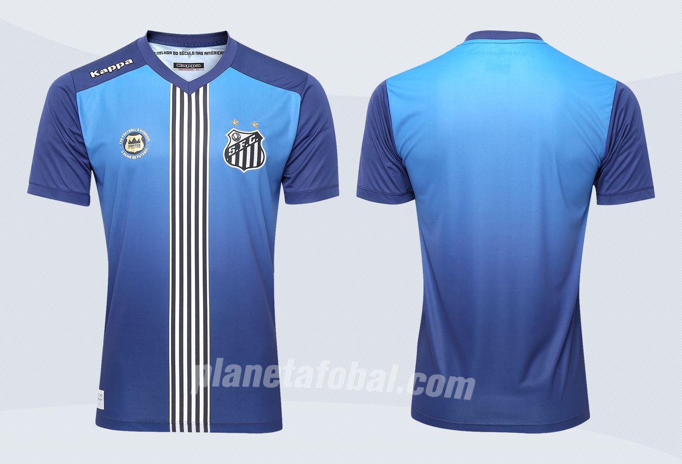 Nueva camiseta del Santos | Imágenes Web Oficial