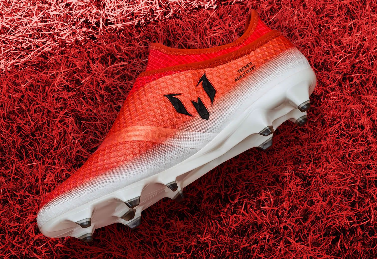 Versión Red Limit de los MESSI16+ | Foto Adidas