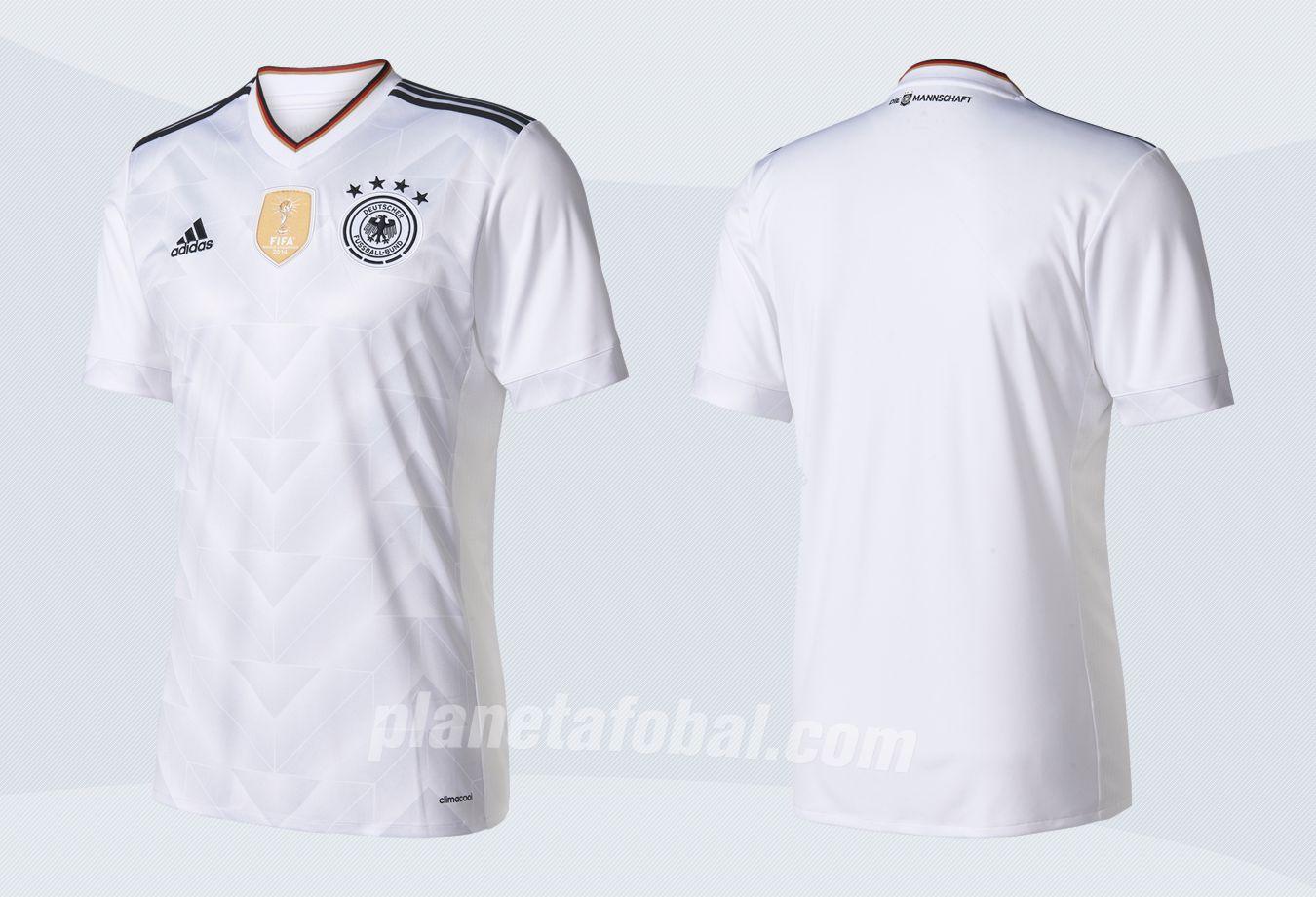 Nueva camiseta de Alemania | Imágenes Web Oficial