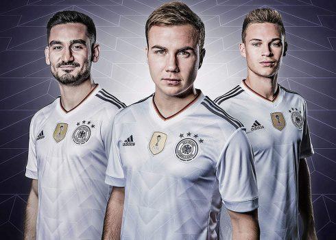 Nueva camiseta de Alemania | Foto Adidas