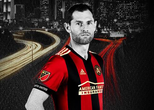 Camiseta titular Adidas del Atlanta United FC   Foto web oficial