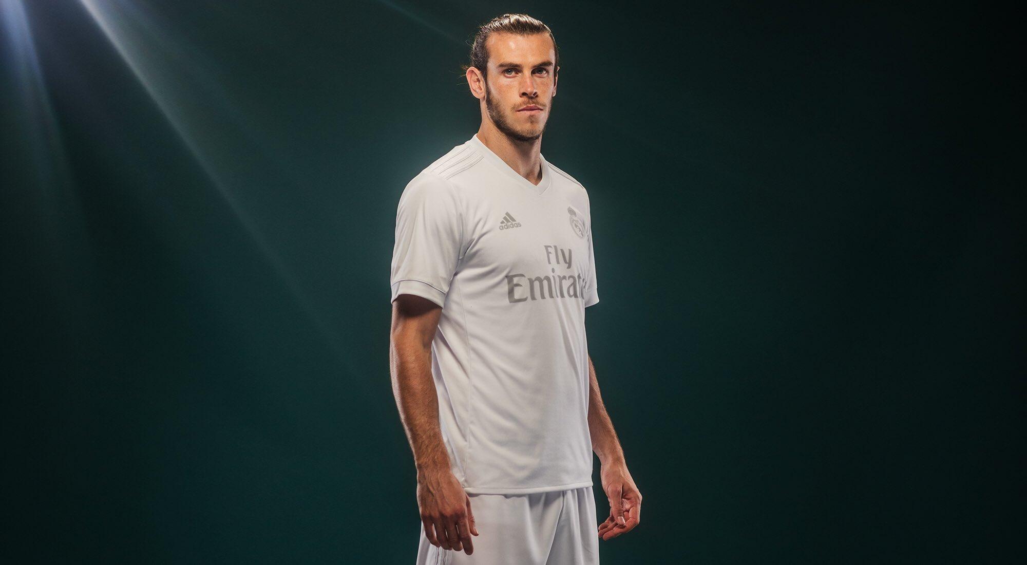 Gareth Bale con la casaca | Foto Adidas