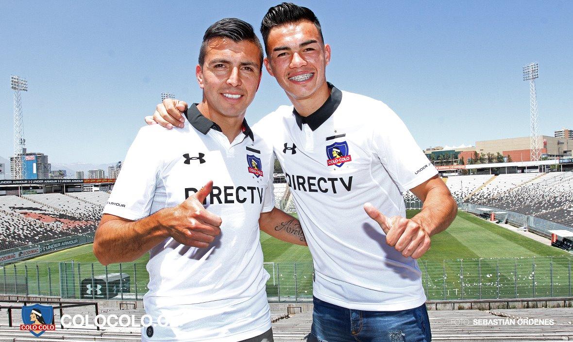 Nueva camiseta del Colo Colo | Foto Web Oficial