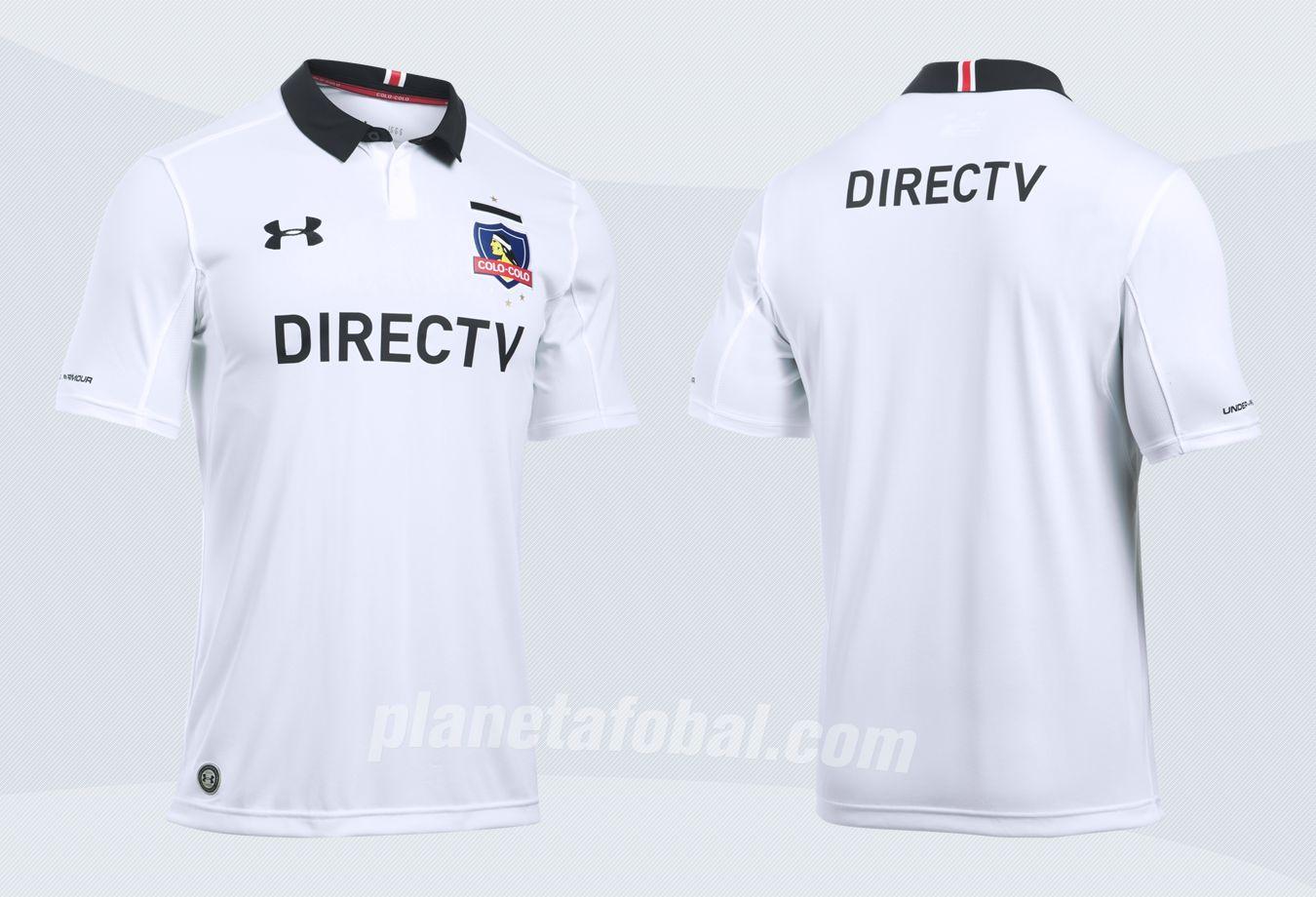 Nueva camiseta del Colo Colo | Imágenes Under Armour