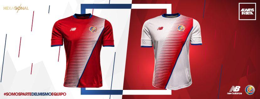 Nuevas camisetas de Costa Rica | Imágenes New Balance