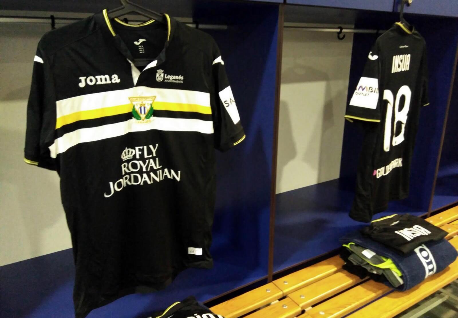 Nueva equipación del Leganés | Foto Twitter Oficial
