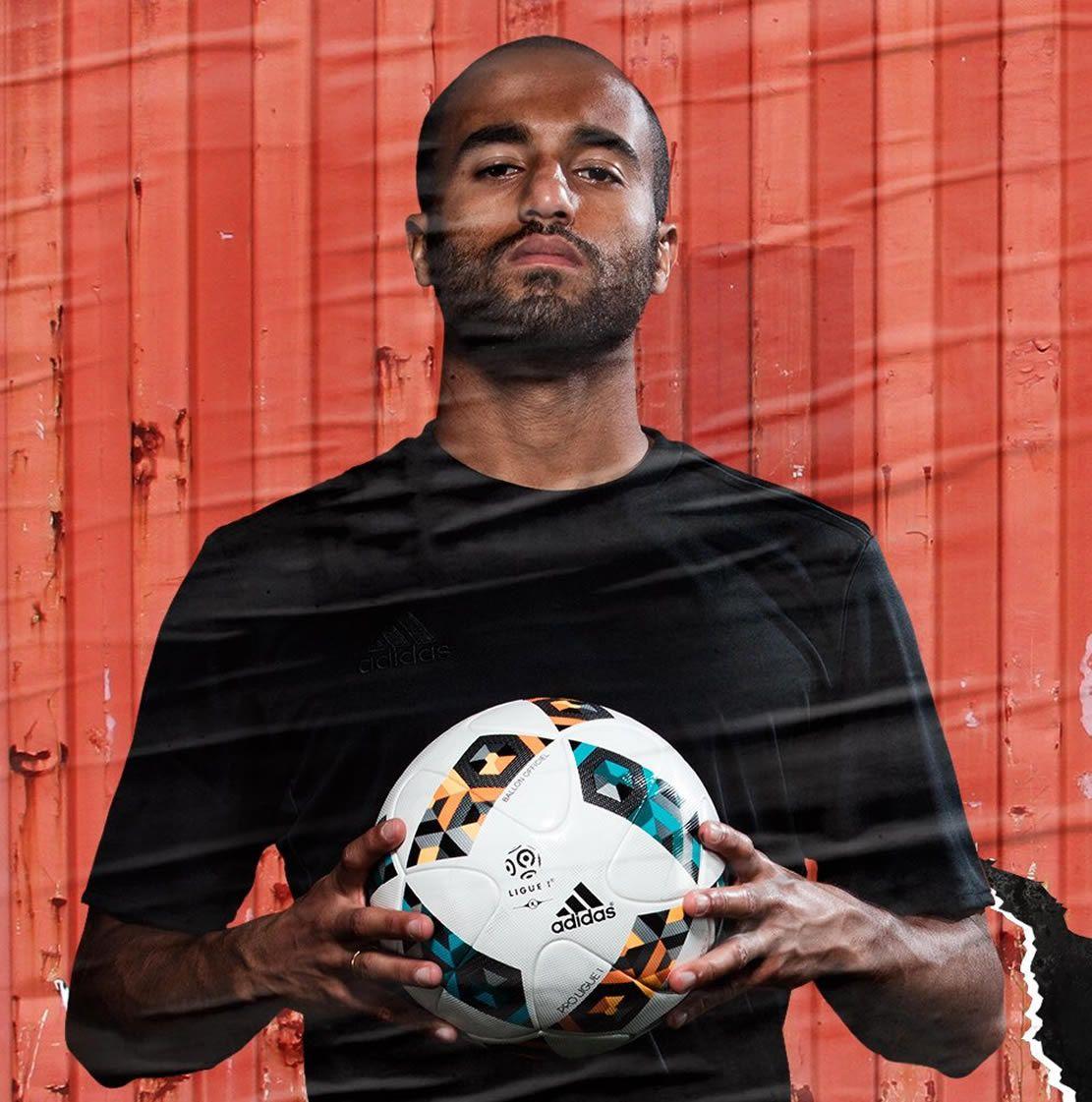 Lucas Moura De Que Pais Es: Balón Adidas De Invierno Ligue 1 2016/2017