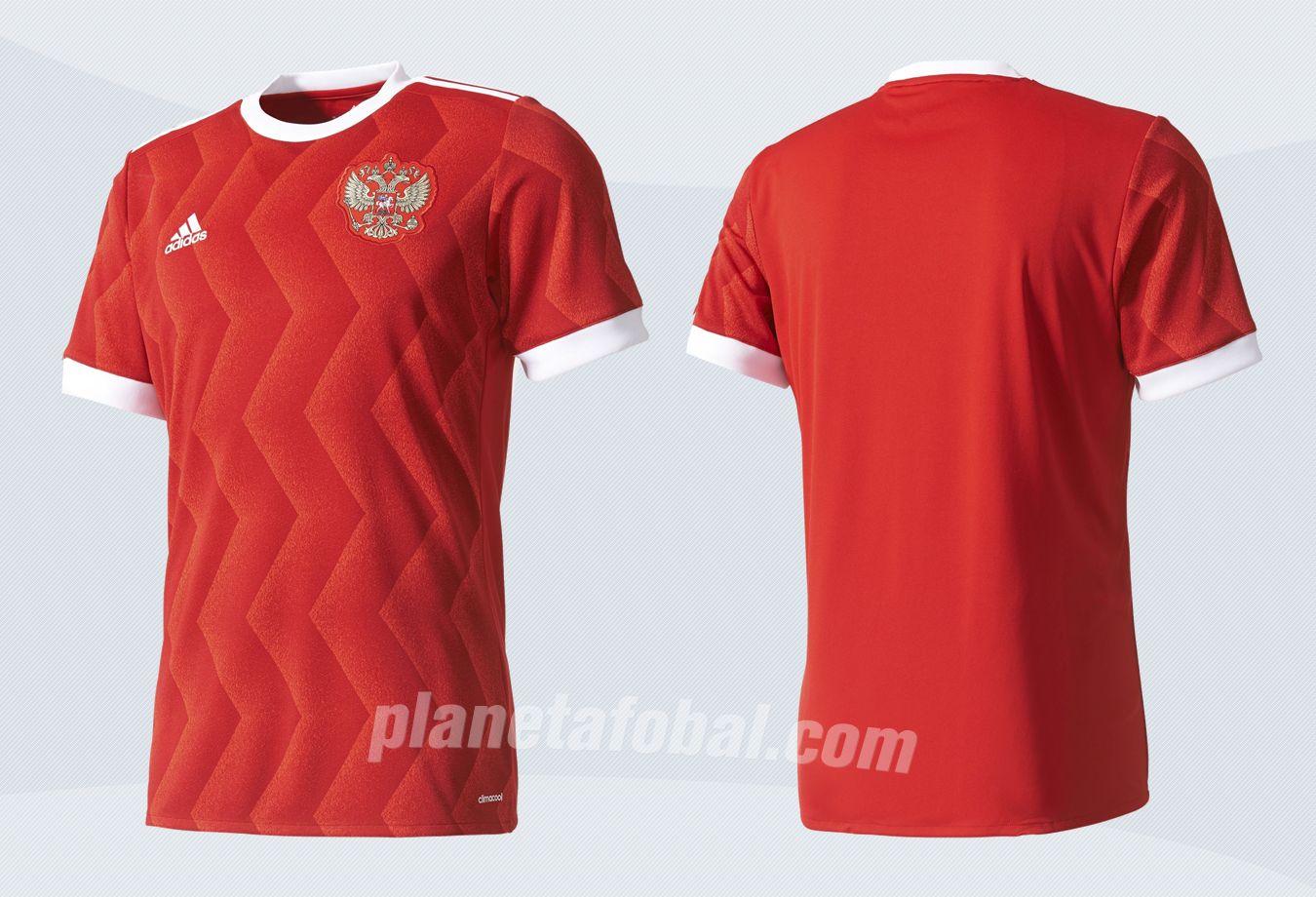 Nueva camiseta de Rusia | Imágenes Adidas