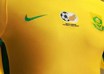 Nueva camiseta titular de Sudáfrica | Foto Web Oficial