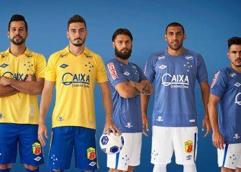 Tercera camiseta Umbro del Cruzeiro SC | Foto Facebook Oficial
