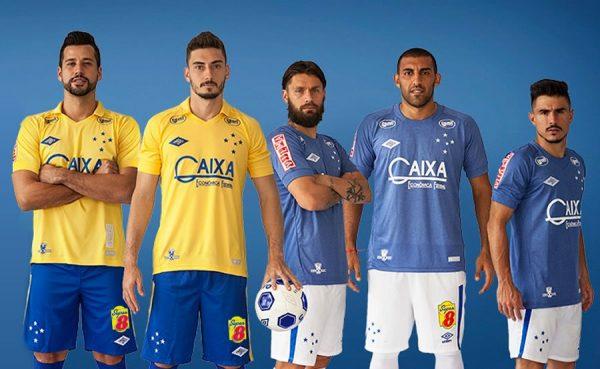 Tercera camiseta Umbro del Cruzeiro SC   Foto Facebook Oficial