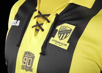 Casaca especial del Al Ittihad FC | Foto Web Oficial
